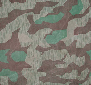 Splinter pattern camouflage material